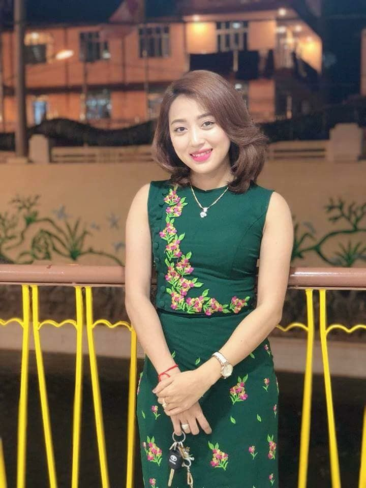 621215e03 Pin by Karina Renee Casarez on Burmese Days in 2019 | Myanmar traditional  dress, Dresses, Traditional dresses