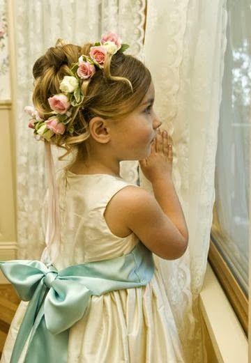 Moda para Peques: Peinados elegantes para niñas