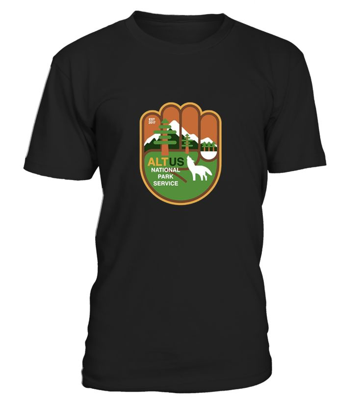 ALT US National Park Service Resist Bear T-Shirt. Perfect gift for those who want to protect wildlife and forests. Save the animals and glacier ice caps. Save the wolves. Resist fascist lying Trump.   Sized to fit. For looser fit, order a size up. National Park Service tee. National Park shirt. Great for outdoors and hiking in the wilderness. Love nature. Save Earth.