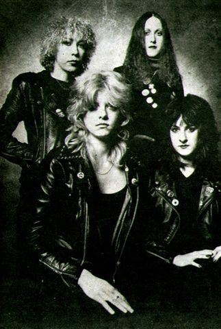 Girlschool! Every all female rock band owes these English ladies along with the Runaways, a BIG thank you!