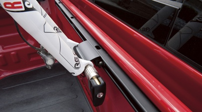 Toyota Tundra Truck Accessories Locking Fork Mount Bike