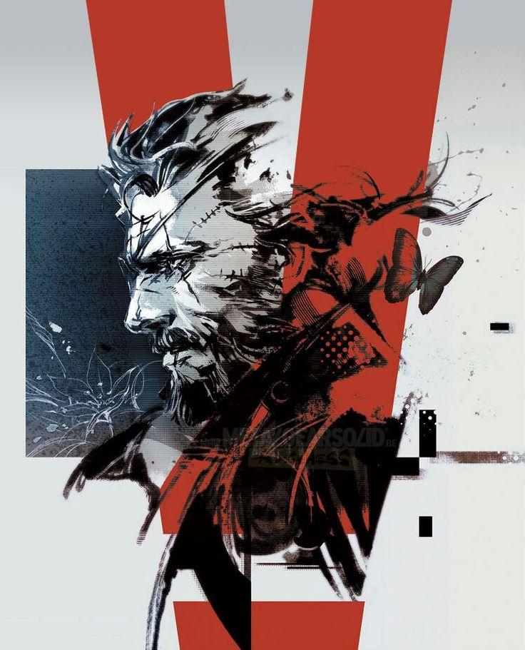Venom Snake By Yoji Shinkawa 2015
