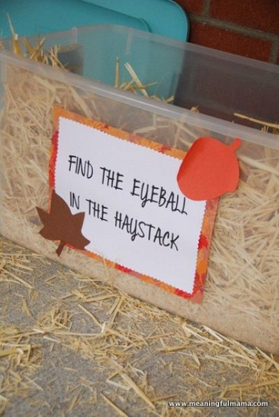 Find the eyeball in the haystack - do some sort of variation undercover in the pavillion?