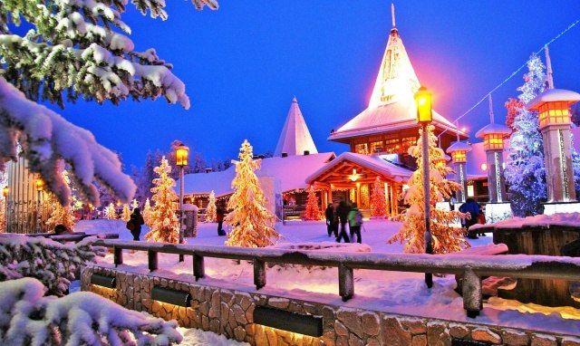 Лапландия: в гостях у Йоулупукки ______________________________  Технически, такой страны - Лапландии, не существует. Ее территория поделена между четырьмя странами: Россией, Финляндией, Швецией и Норвегией. Финны справедливо полагают, что их часть лучшая, ведь там родился Санта-Клаус (по-местному Йоулупукки ).  Сказочная страна находится в финской провинции Лаппи, административный центр которой- Рованиеми, самый крупный по площади город Европы.  Разумеется, главной достопримечательностью…