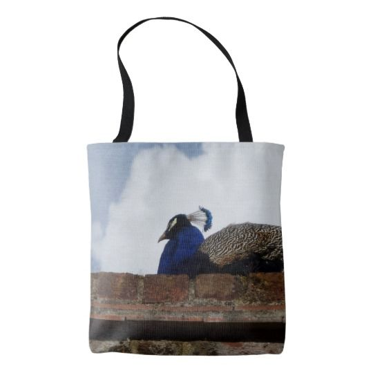 #zazzle #girl  #woman #gift  #giftidea  #Tote #Bag #Peacock