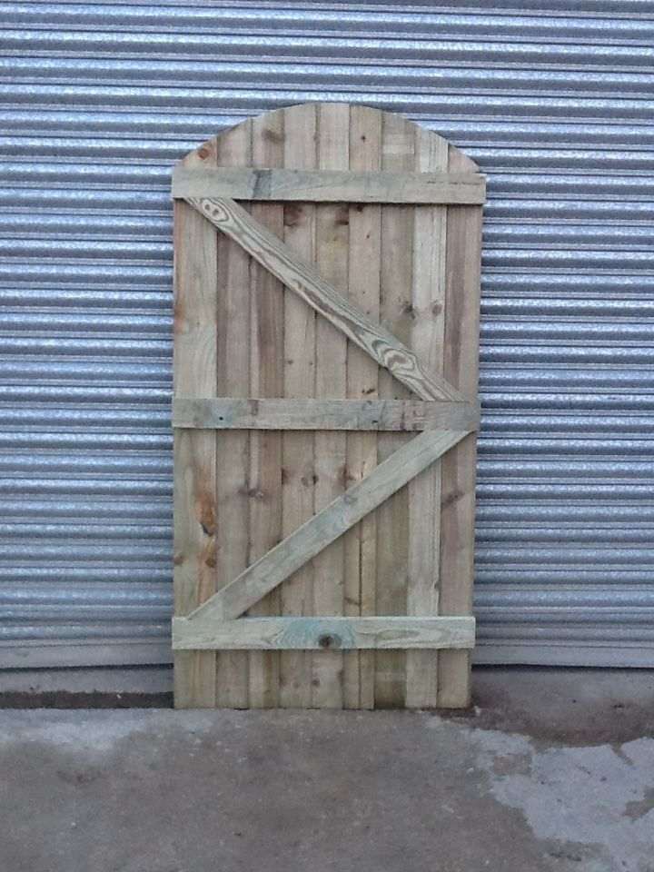 Wooden Gate Garden Gate Heavy Duty Pressure Preated In Garden Patio Garden Fencing Garden