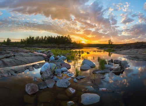 Фотограф Лашков Фёдор - Картинный закат #1999564. 35PHOTO