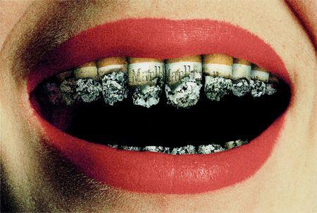 Creative advertising - Smoking