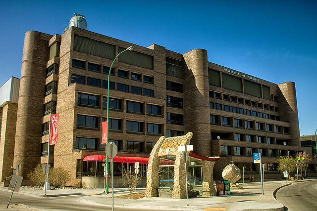 David Perrett's City.Block.Stop at U of W, Winnipeg MB by AJ Batac, via Flickr