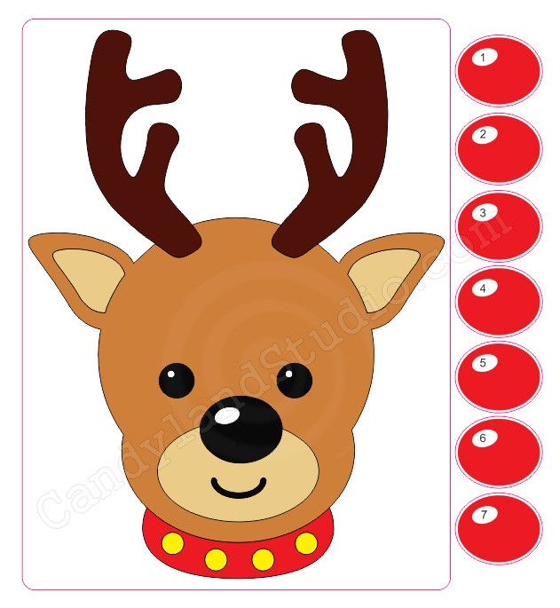 Vlogmas || Reindeer Games || Pin the Red Nose on Rudolph ...