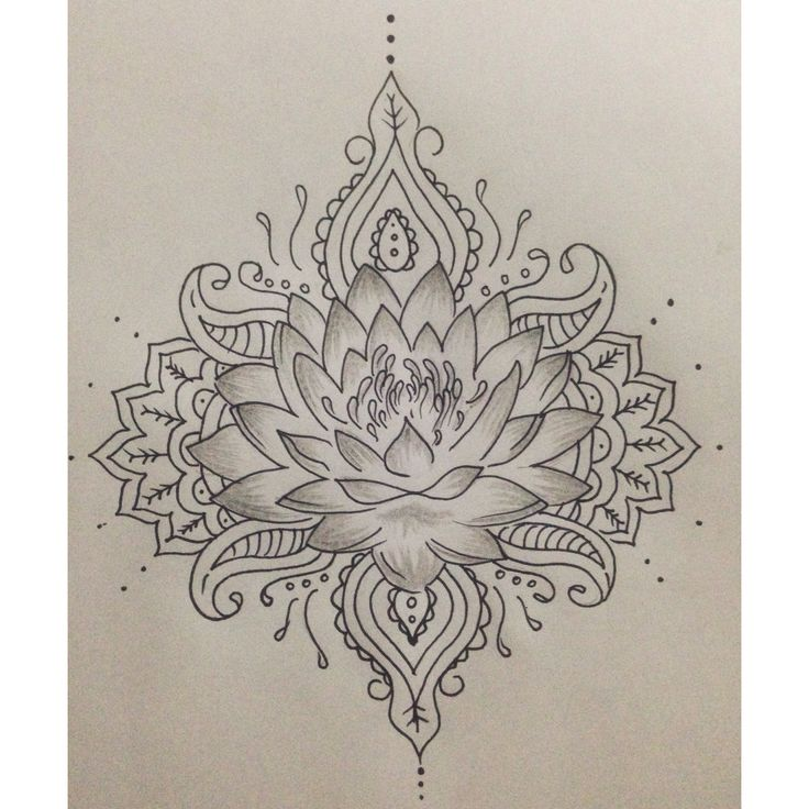 Lotus flower :) #draw ...