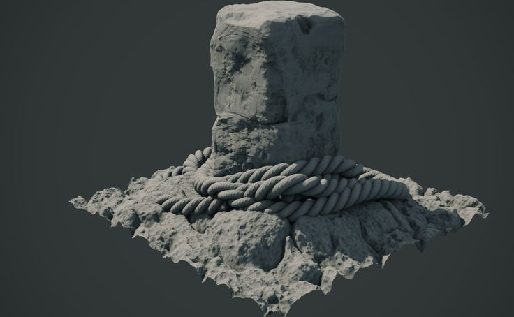 ArtStation - 05 Bondage Rocks, Anthony Pitts