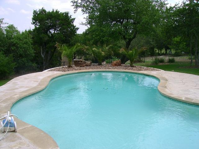#Landscape #design work by a pool by DH Landscape Design