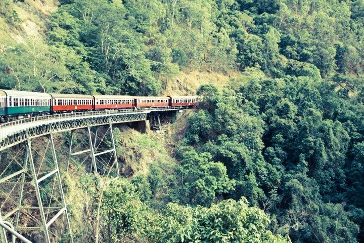 Kuranda Train (Cairns, Australia) I remember riding this train, so much fun!
