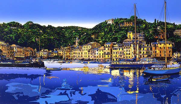 BY EIZIN SUZUKI  EARLY AFTERNOON AT PORTOFINO