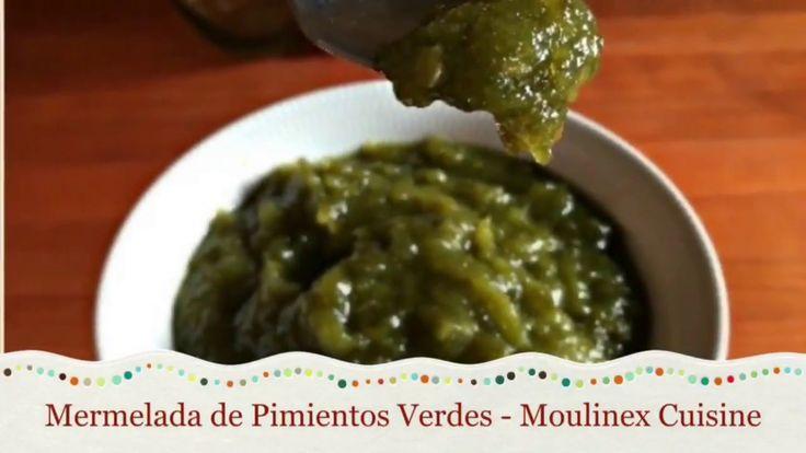 Mermelada de Pimientos Verdes - Moulinex Cuisine Companion