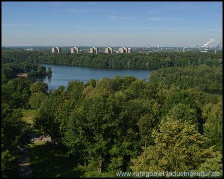 Aussichtsturm auf dem Wolfsberg in Duisburg