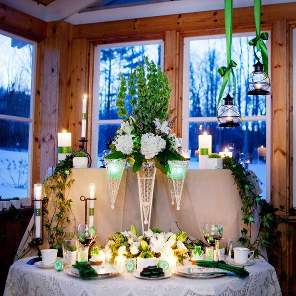 59 best an irish wedding day images on pinterest irish wedding being that st paddys is exactly a week away i was looking around for some shamrock wedding ideas when as luck would have it this lovely st patricks junglespirit Choice Image
