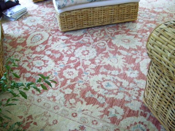 Take a look at this Craigslist add. Some really pretty large rugs for under $1000