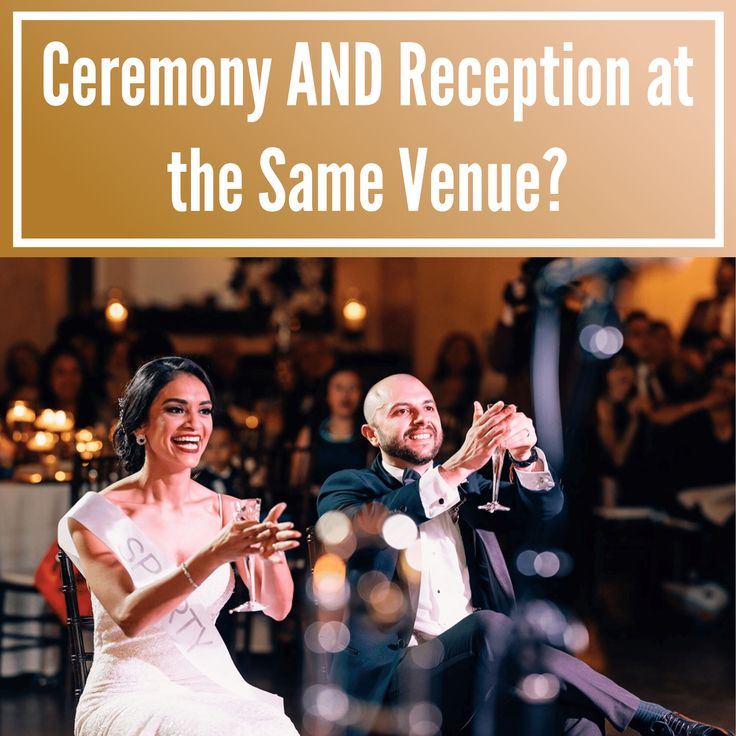 Ceremony and Reception at the Same Venue?