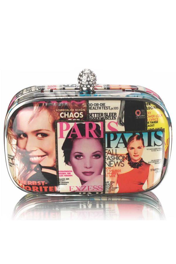 Magazine Clutch Bag