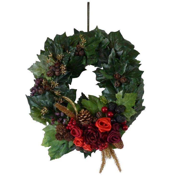 Ghirlanda Natale Decorazioni fai da te