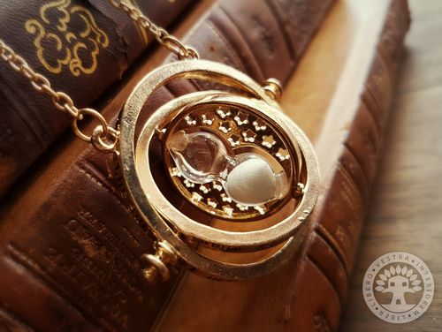Harry Potter Time Turner Necklace by Corinne Jade