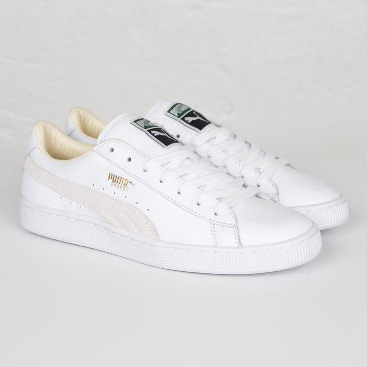Sneakers, Puma Basket, Stan Smith, Rues, Adidas, Le Coin, Coins, Photos, White  Sneakers