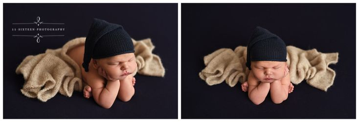 Colin's Maxin' and Relaxin' Newborn Session {11 Sixteen Photography}
