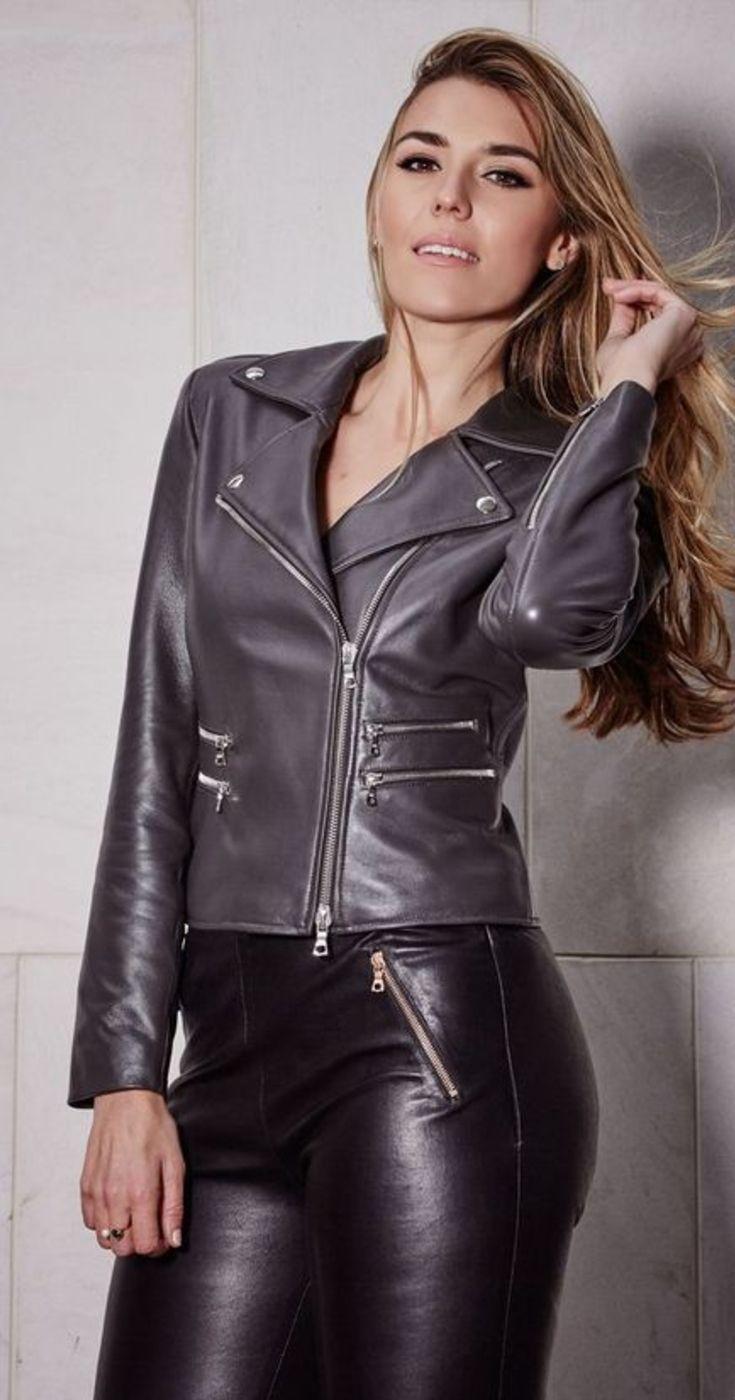 Women S Leather Biker Jacket Leather Pants Women Leather Jacket Girl Leather Jackets Women [ 1400 x 735 Pixel ]