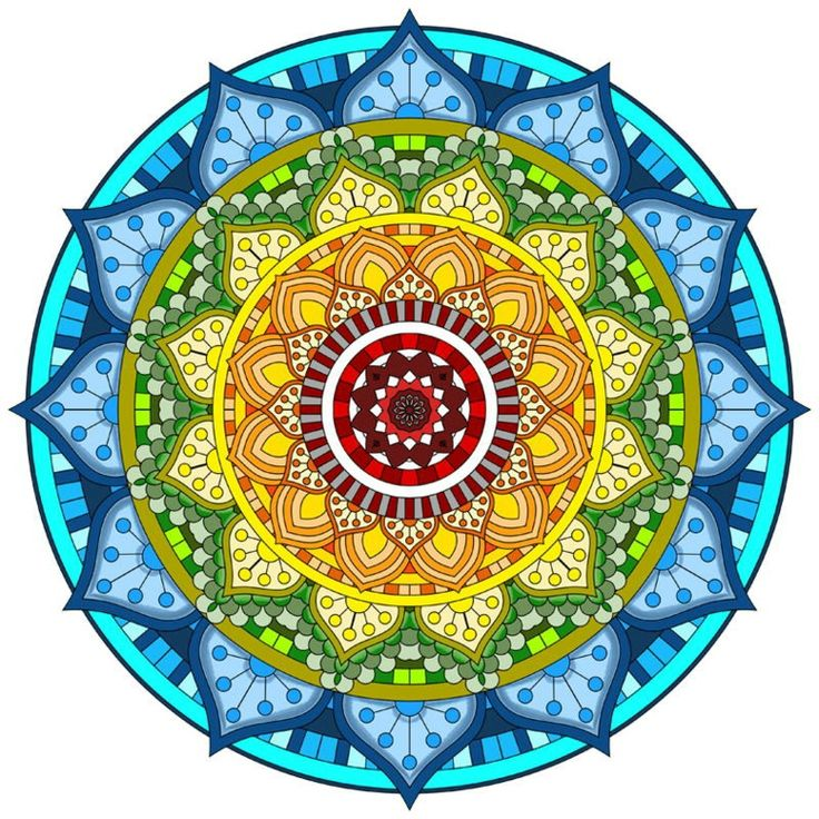cómo pintar mandala original