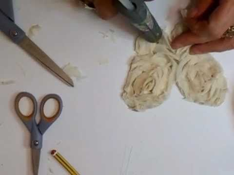 Shabby Chic Doily Flowers & Shabby Chic Butterfly Tutorial