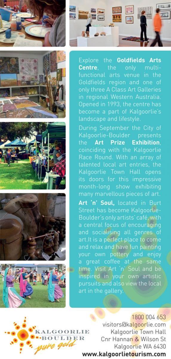 Arts & Culture Experience | Kalgoorlie Boulder Tours Accommodation Information