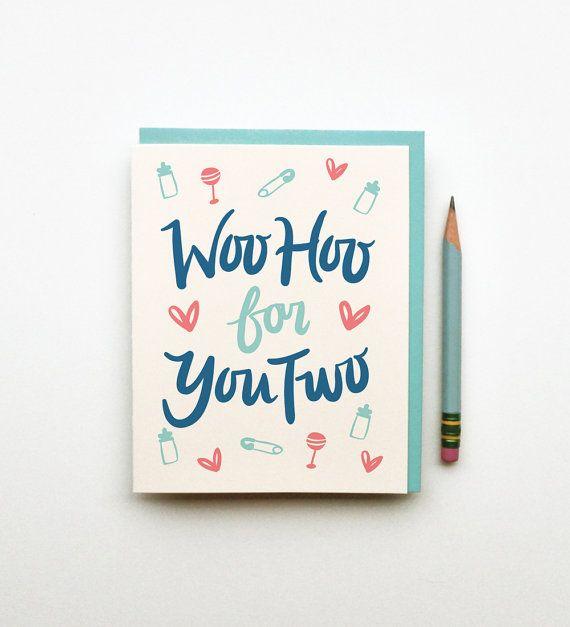 Send your congrats with an adorable card.