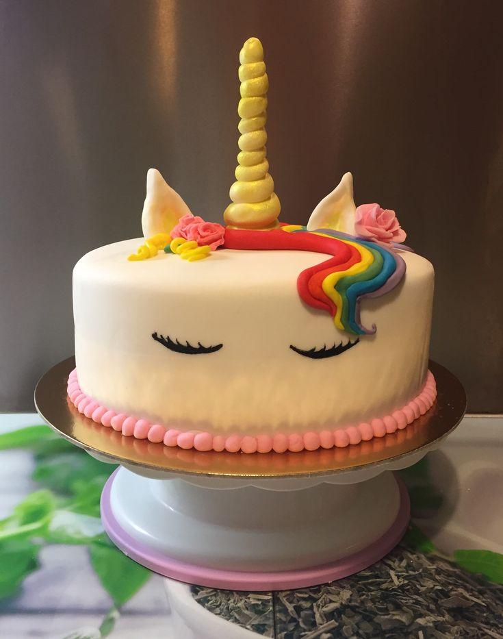 2017/12/18 Unicorn cake