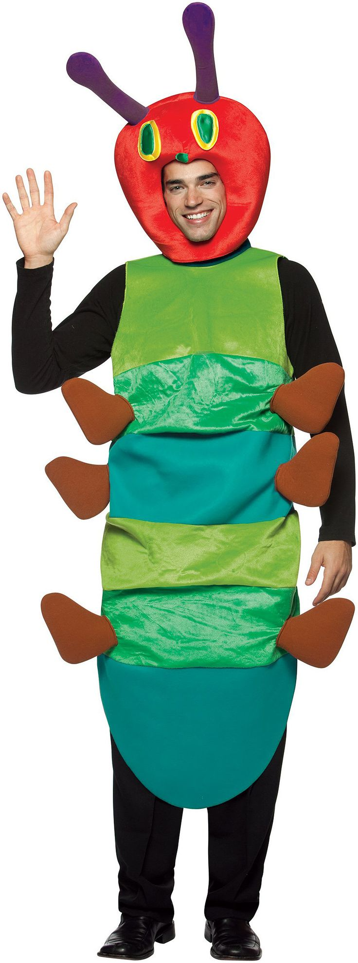 The World of Eric Carle The Very Hungry Caterpillar Deluxe Adult Costume | ThePartyWorks