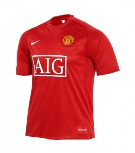 Nike Fußball Trikot Manchester United Boys Home / 237945-666 - http://on-line-kaufen.de/nike/nike-fussball-trikot-manchester-united-boys-home