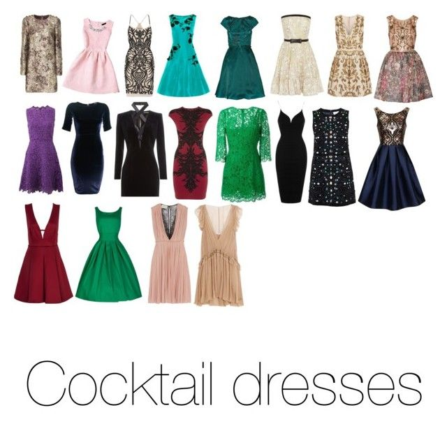 """""""Cocktail dresses - my items"""" by natalia-de-melo on Polyvore featuring Dolce&Gabbana, Badgley Mischka, Oscar de la Renta, Mikael Aghal, Valentino, Alice + Olivia, Notte by Marchesa, TFNC, Balmain and Alexander McQueen"""