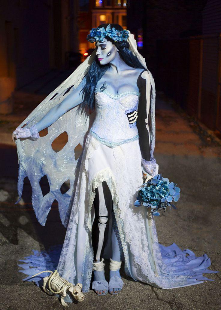 DIY Costume: The Corpse Bride | Halloween bride costumes ...