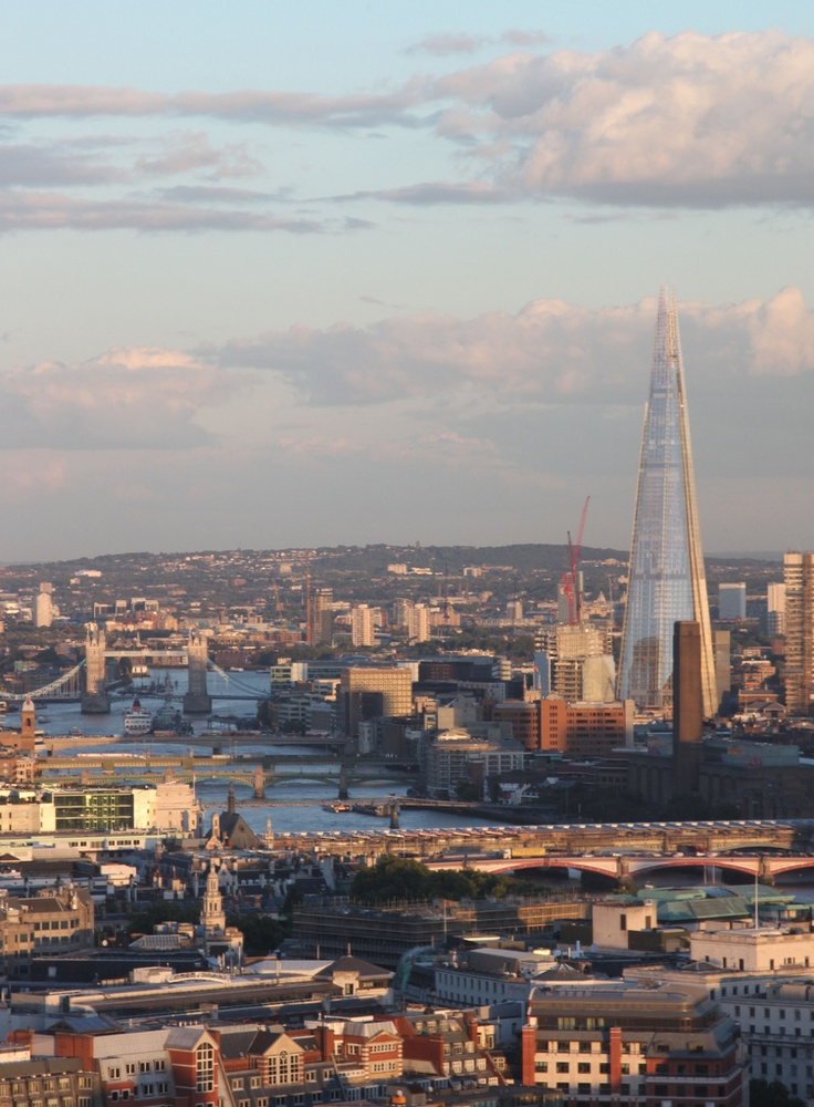 The Shard at sunset, London | England (by cerebellah)