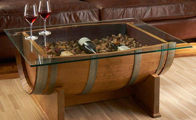 Te damos 10 ideas para que decores tu casa con barricas de vino recicladas