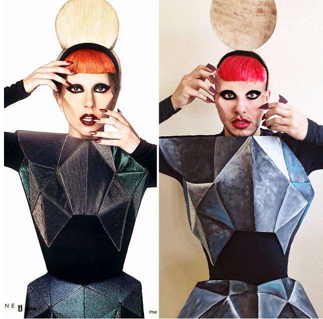 8 Adet Ünlülerin Yan Sanayileri  Londra'da yaşayan 20 yaşındaki Kanadalı öğrenci, Mina Gerges ünlüler gibi poz vererek onlarla dalga geçmeyi sevdiğini belirtiyor.Taklit ettiği ünlülerin giyimleri,makyajlarına kadar her bir ayrıntısına özen gösteriyor ve sonucunda ortaya bu komik görüntüler çıkıyor. 1-Miley Cyrus  2-Rihanna... Eklendi, Daha fazlası için Soosyo'ya Gel!