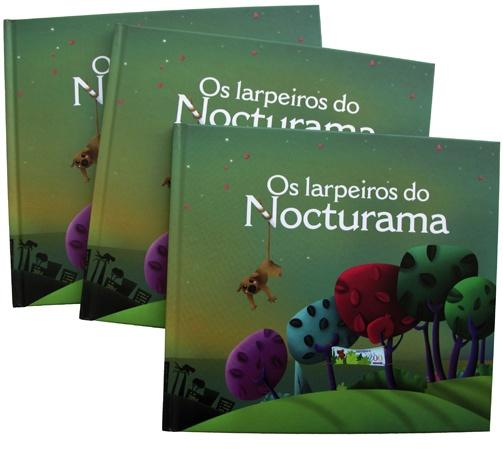 """""""Os larpeiros do Nocturama"""", proyecto editorial infantil realizado para VigoZoo.  Autora: Elena Ocampo  Ilustradora: Almudena Aparicio    Fuente de la fotografía: http://almudenaaparicio.blogspot.com.es/"""