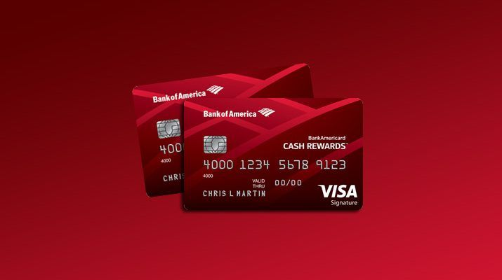 Secured Credit Card Bank Of America