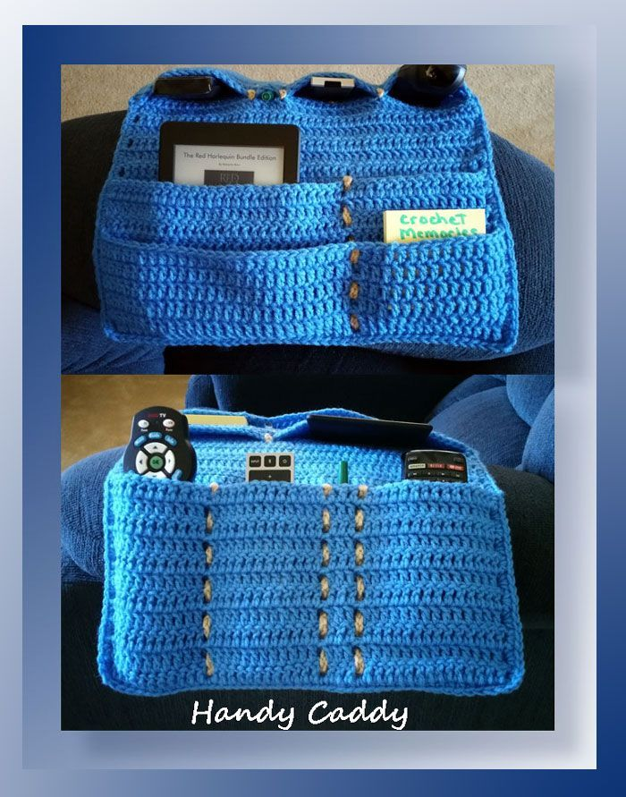 """I added """"Handy Caddy CAL (Part E) Parts A-D linked on page"""" to an #inlinkz linkup!http://www.crochetmemories.com/blog/handy-caddy-cal-part-e/"""
