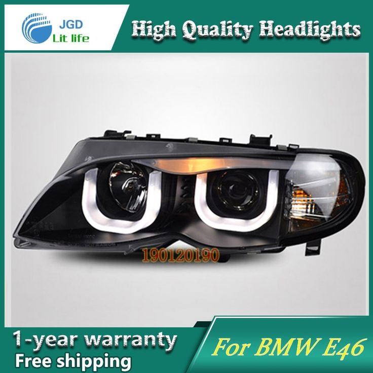 587.88$  Watch now - http://aliiv1.worldwells.pw/go.php?t=32775933737 - JGD Brand New Styling for BMW E46 316i 318i 320i 325i LED Headlight 2001-2004 Headlight Bi-Xenon Head Lamp LED DRL Car Lights 587.88$