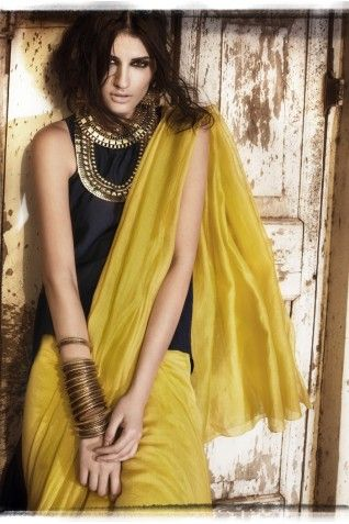 Payal Singhal Sarees Collection : SITARA MUL SAREE