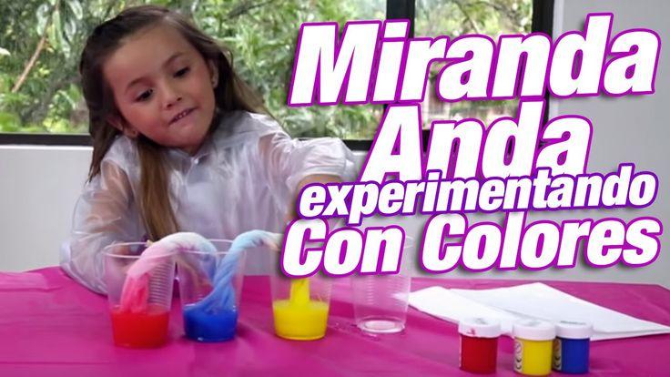 Experimentos caseros fáciles para niños - Miranda Anda Experimentando co...