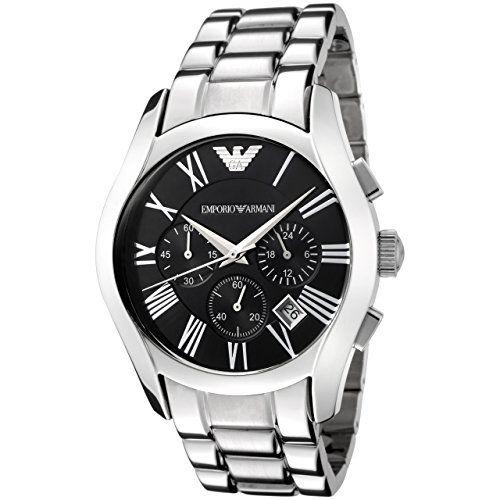 Emporio Armani Gents Chronograph Stainless Steel Bracelet Watch  Price Β£299
