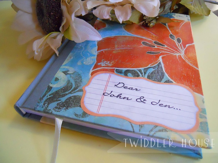 Twiddler House: Sweet Gift For Your Sweetheart- Couple's Journal